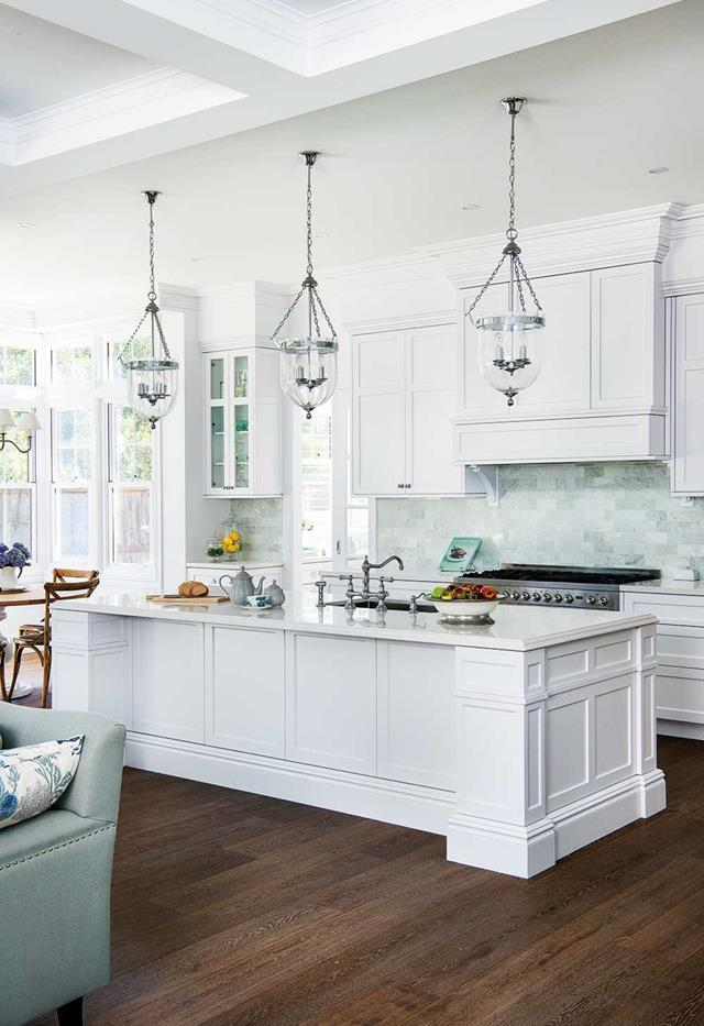 """This classic [Hamptons home in the NSW coastal hinterland](https://www.homestolove.com.au/classic-hamptons-home-22702