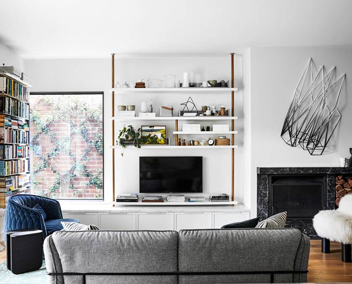 """**LIVING AREA** The Swedese 'Continental' sofa from [Fred International](https://fredinternational.com.au/