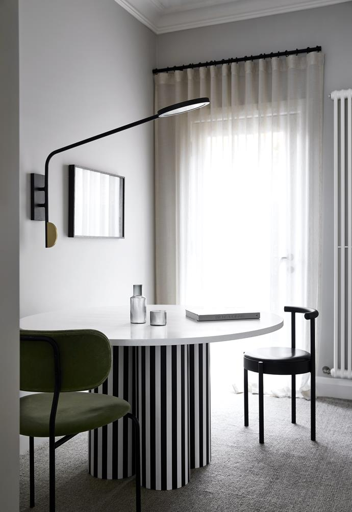 """**STUDY** This quiet spot features an [Ana Kraš](https://anakras.com/category.php?slug=objects
