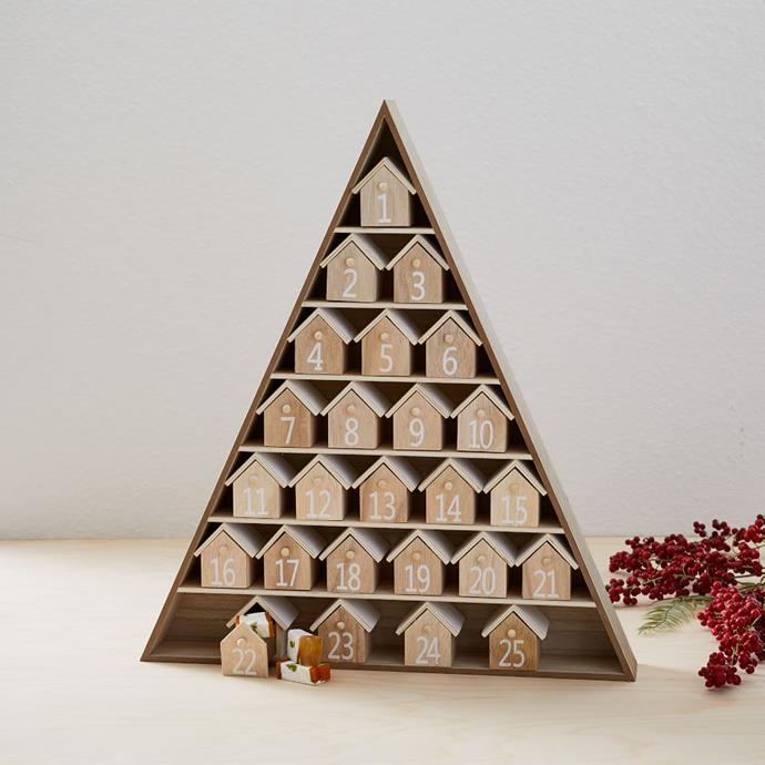 """**House Advent Calendar, $109, [West Elm](https://www.westelm.com.au/house-advent-calendar-d6560?gclid=Cj0KCQjwwNWKBhDAARIsAJ8HkhealJ7nwaNYLsv_qYvHTKQIWdC_aaoqKJFYfh10F2AEkD3sAdElFLkaAi3XEALw_wcB
