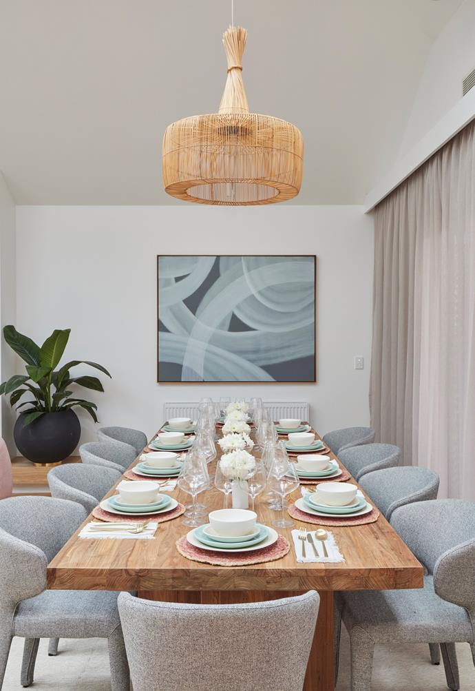 """Shaynna said she'd love to attend a dinner party at [this table](https://www.schots.com.au/ballina-dining-table-300cm-recycled-teak-ka233023c.html