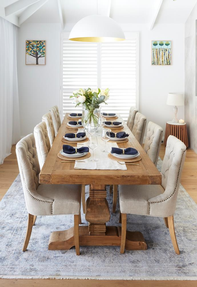 """Darren admired the choices of the [chairs](https://www.schots.com.au/windale-dining-chair-antique-white-kai18039.html