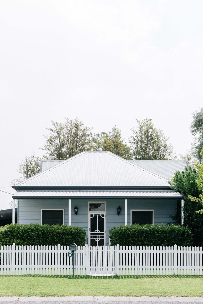 One of the many quaint cottages in town.