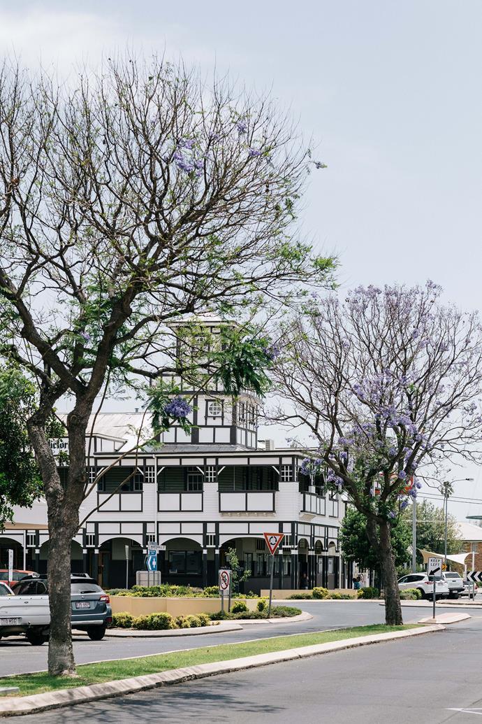 "The iconic [Victoria Hotel](https://www.victoriahotelgoondiwindi.com.au/|target=""_blank""|rel=""nofollow"")."