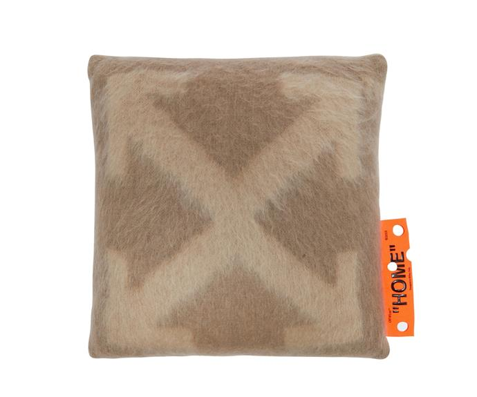 Off-White HOME small pillow, $520.