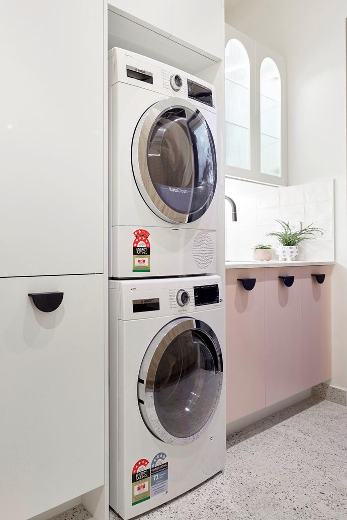 While the judges loved the look of Tanya and Vito's laundry, Shaynna found functionality lacking.