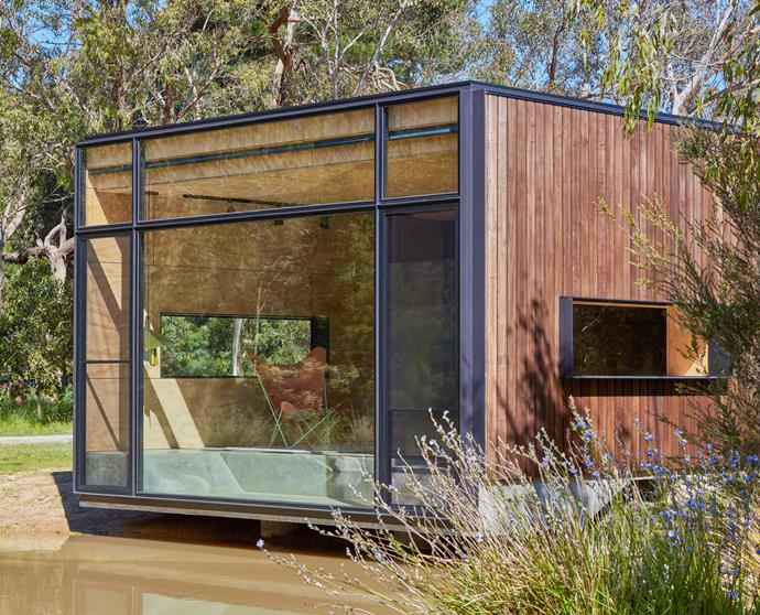 """**TINY FOOTPRINT** This beautifully crafted building by [Branch Studio Architects](http://branchstudioarchitects.com/