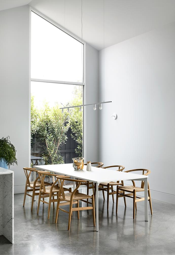 """Lucy chose polished, pigmented [concrete flooring](https://www.homestolove.com.au/concrete-floors-19778