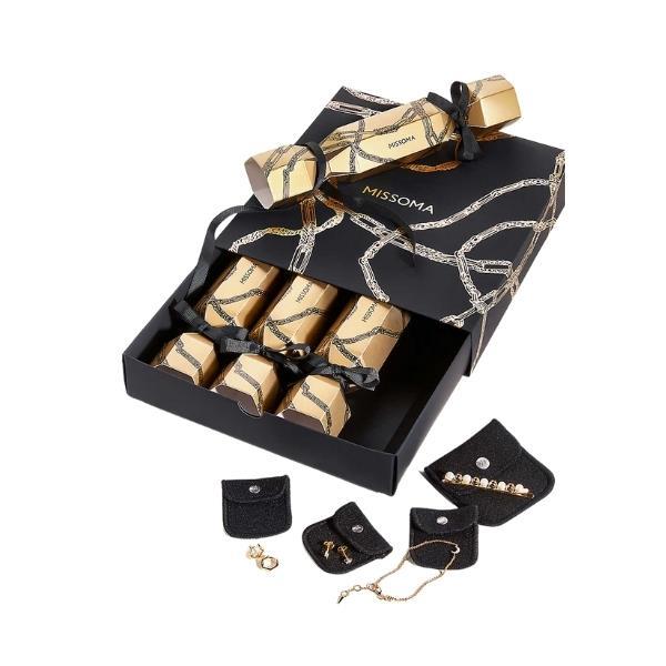 "Missoma Christmas crackers set of four, $235, [Selfridges](https://www.selfridges.com/AU/en/cat/missoma-christmas-crackers-pack-of-four_R03839997/?previewAttribute=MULTI-COLOURED target=""_blank"" rel=""nofollow"")"