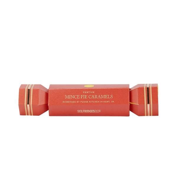 """Mince pie caramels cracker, $8, [Selfridges](https://www.selfridges.com/AU/en/cat/selfridges-selection-mince-pie-caramels-150g_R03780844/ target=""""_blank"""" rel=""""nofollow"""")"""