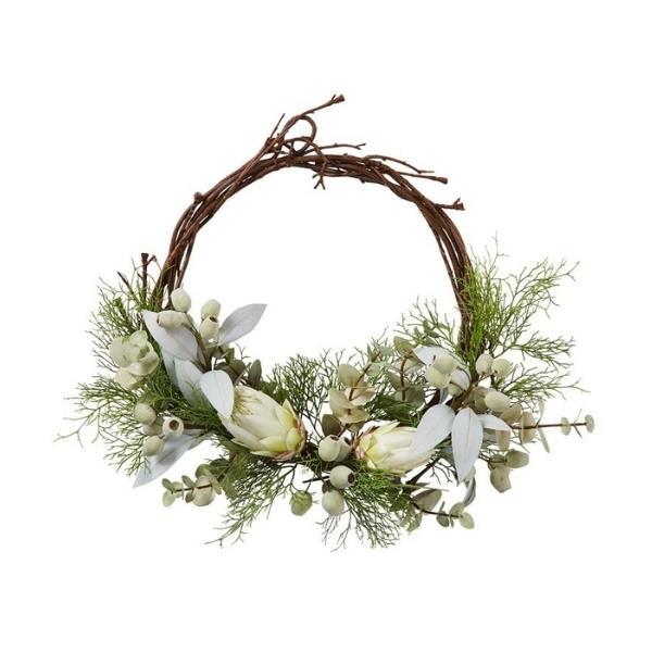 "Native green wreath, $99.99, [Adairs](https://www.adairs.com.au/homewares/christmas/adairs/native-green-wreath/|target=""_blank""|rel=""nofollow"")"