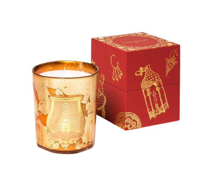 """**[Abd El Kader candle Christmas Edition by Cire Trudon, $449 (880g), Cosette](https://www.cosette.com.au/products/abd-el-kader-candle-christmas-edition-800g target=""""_blank"""" rel=""""nofollow"""")** <br></br> Be transported to the enchanting markets of Morocco with Cire Trudon's luxe Christmas candle. Each Cire Trudon candle is poured in France, and the particular fragrance boasts a vanilla base with notes of jasmine, apple, ginger, cloves and spearmint. Perfect for getting into the festive cheer."""