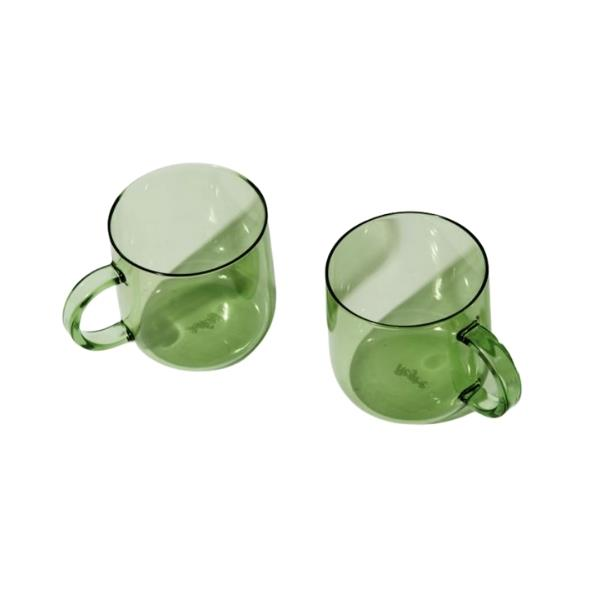 """Coro cups set in green, $69, [Greenhouse Interiors](https://greenhouseinteriors.com.au/products/coro-cups-set-in-green target=""""_blank"""" rel=""""nofollow"""")"""