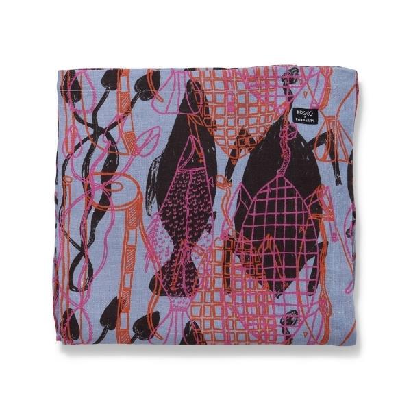 "Kip & Co x Babbarra Kunronj linen tablecloth, $159, [The Iconic](https://www.theiconic.com.au/kip-co-x-babbarra-kunronj-linen-tablecloth-1288896.html target=""_blank"" rel=""nofollow"")"