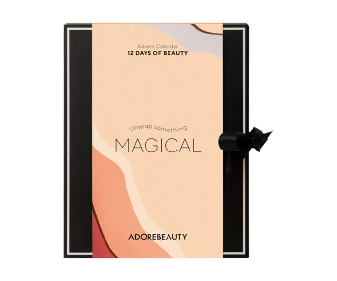"""**Luxury Advent Calendar, $99.95, [Adore Beauty](https://www.adorebeauty.com.au/adore-beauty/adore-beauty-luxury-advent-calendar-2021.html