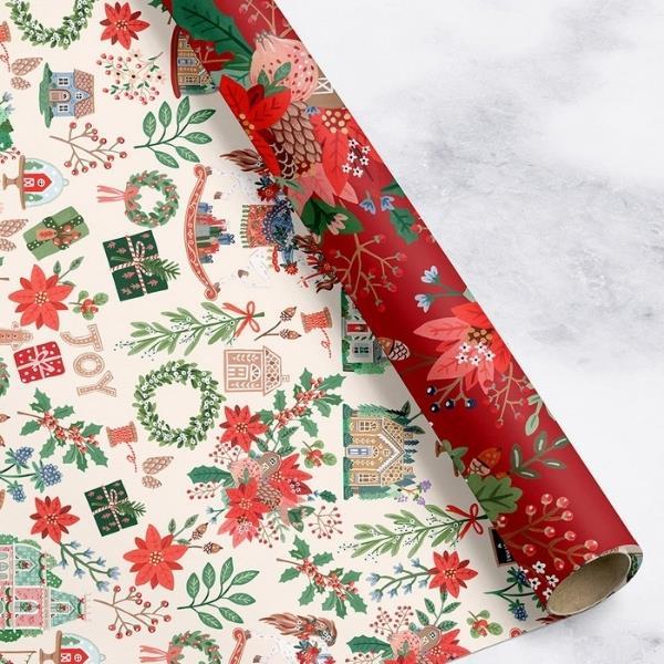 "Christmas Joy / Red Floral 6pk $28.95, [Bespoke Letterpress](https://bespokepress.com.au/collections/christmas/products/christmas-joy-red-floral-6pk target=""_blank"" rel=""nofollow"")"