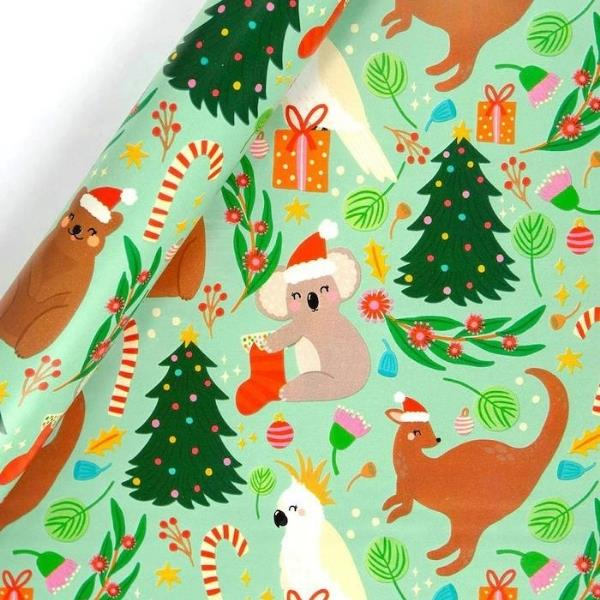 "Hallmark Christmas Wrapping Paper – Australian Animals, $6, [Target](https://www.target.com.au/p/hallmark-christmas-wrapping-paper-australian-animals/65352342 target=""_blank"" rel=""nofollow"")"