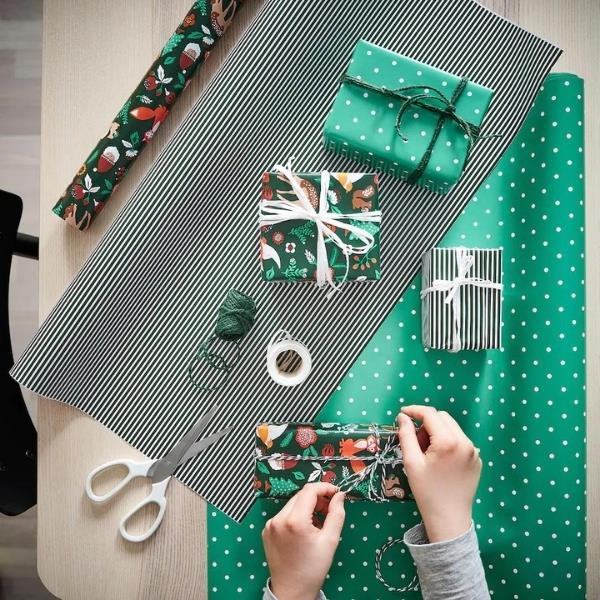 "VINTER 2021 Gift wrap roll, animal pattern green, $6.50, [IKEA](https://www.ikea.com/au/en/p/vinter-2021-gift-wrap-roll-animal-pattern-green-90499797/ target=""_blank"" rel=""nofollow"")"