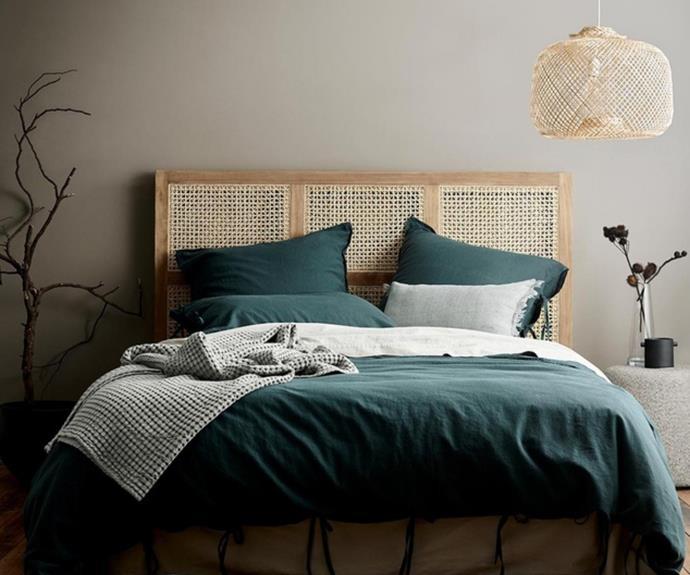 "[Aura Home Maison quilt cover](https://www.theiconic.com.au/maison-quilt-cover-1370696.html|target=""_blank""|rel=""nofollow""), $160.30 *(was $229.00)*"