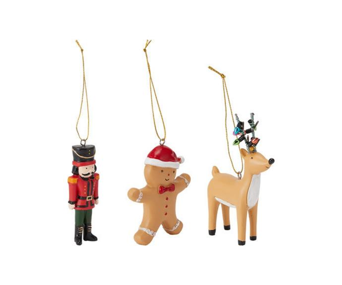 """Christmas Characters in Poly Resin - Assorted, $3/each, [Kmart](https://www.kmart.com.au/product/christmas-characters-in-poly-resin---assorted/3811842