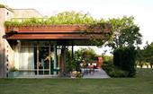 An innovative and sustainable architectural build on an Italian vineyard