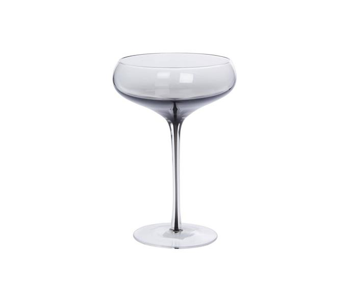 """Fusion martini glass, $39.95 for four, [Freedom](https://www.freedom.com.au/product/24347396