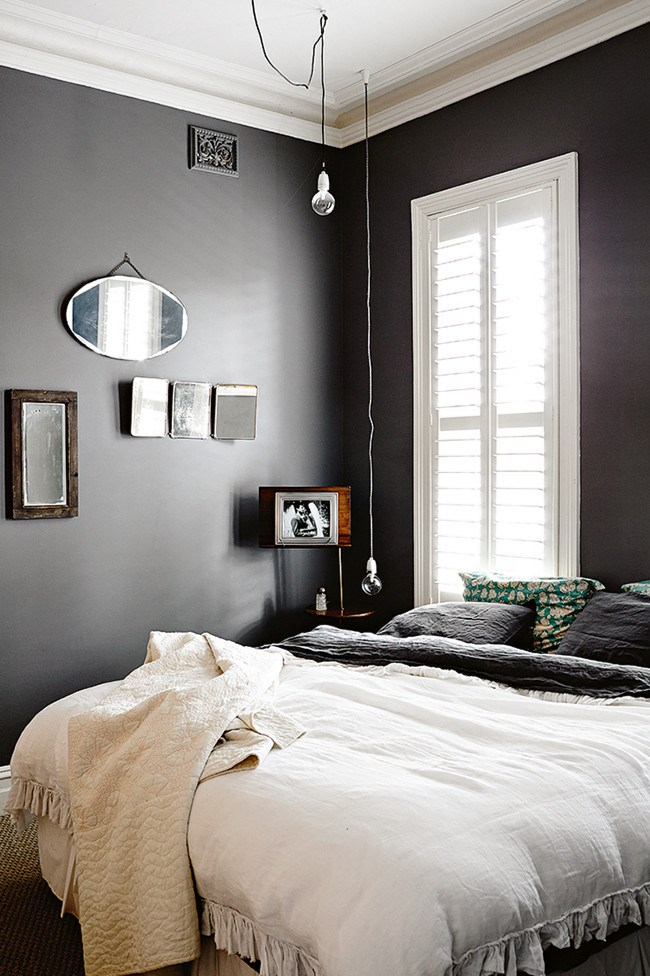 **Master bedroom** The low pendants are very calming – the key when going to bed! | Photo: Derek Swalwell