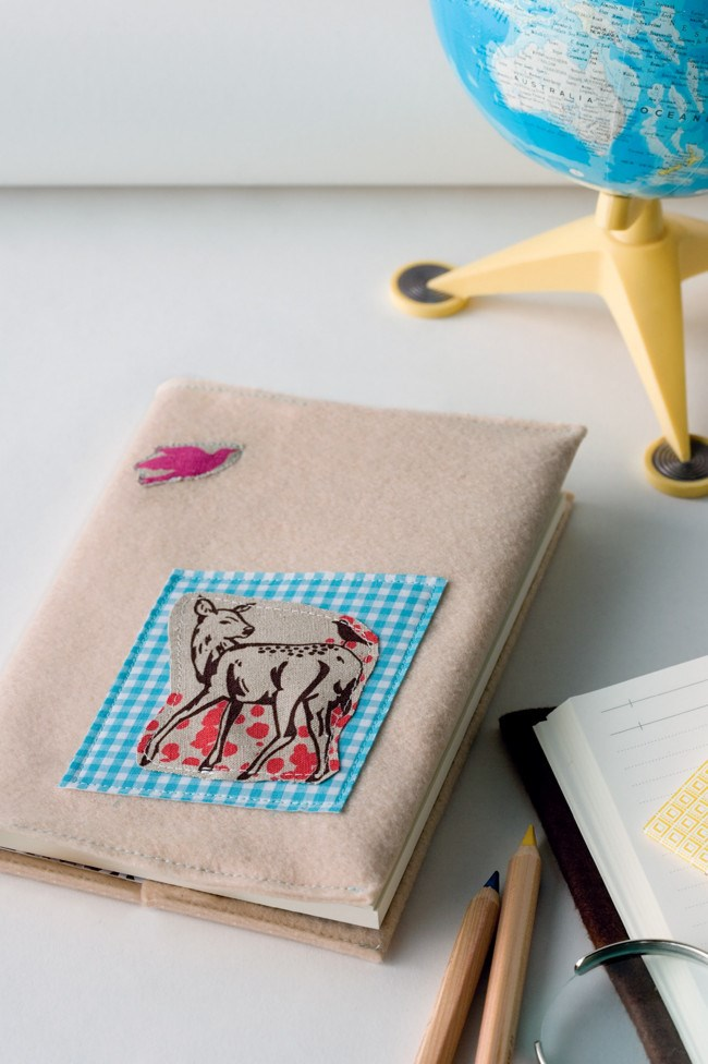 [Cover a notebook in felt.](http://www.homelife.com.au/craft-diy/craft/how-to-make-felt-notebook-covers) Writing never felt so good! | Photo: Scott Hawkins