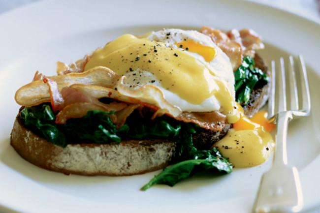 6\. Eggs Florentine. A classic treat, eggs Florentine is perfect for a Sunday brunch. [How to make eggs Florentine](http://www.homelife.com.au/recipes/entrees/eggs-florentine)   Photo: Ben Dearnley