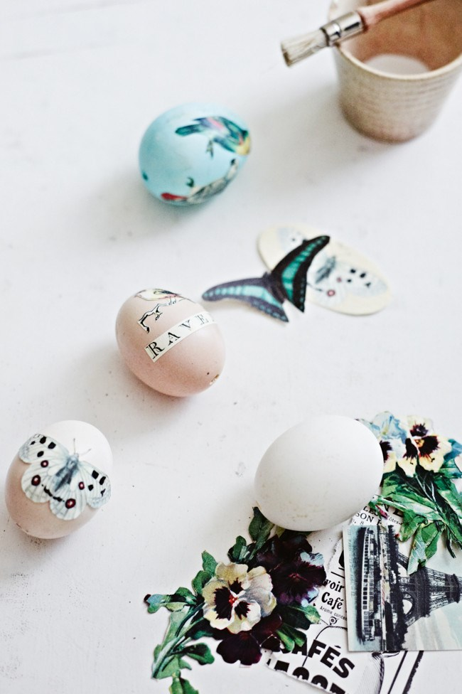 "**Make decoupage Easter eggs:** Kids will love helping to make these unique decoupage eggs which can be kept as decorations for years to come.   [How to make decoupage Easter eggs](https://www.homestolove.com.au/make-decoupage-easter-eggs-10264|target=""_blank"") >"