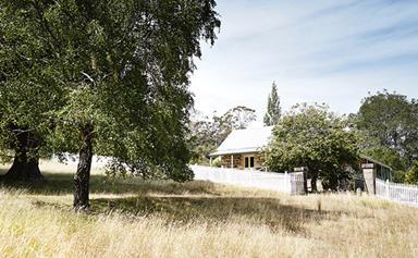 Restored country homestead Tasmania