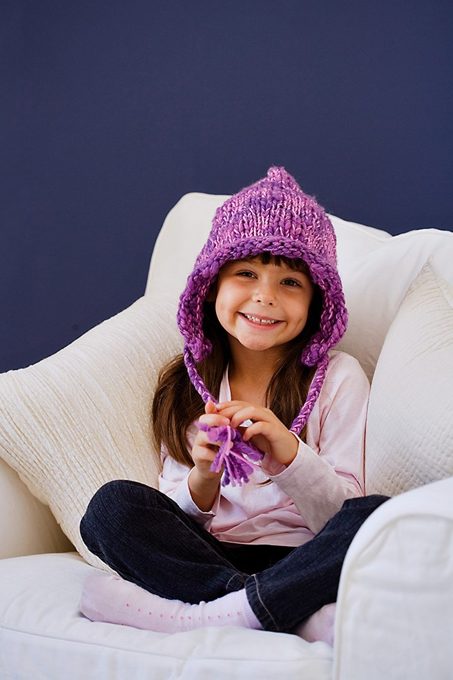 This cute and cosy hat is ideal for beginner knitters and will keep little ones warm. [**How to knit a hat**](http://www.homelife.com.au/how+to/how+to+knit+a+bonnet,3719) | Photo: Scott Hawkins