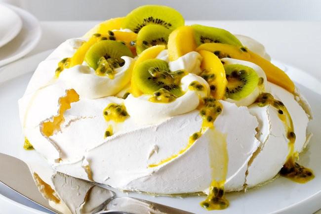 **Pavlova** | Pavlova with seasonal fruit - [Click here for recipe](/food/2380/pavlova)