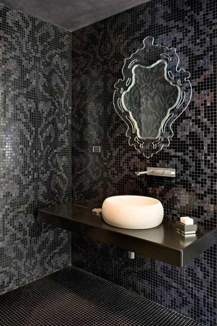 'Damasco' mosaic tiles in Black, from [Bisazza](http://www.bisazza.com/).