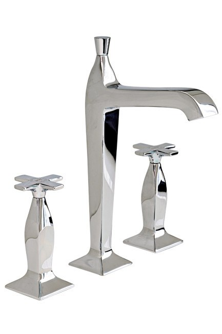 **Basin set |** Roca 'Bellagio' high spout basin set, from [Streamline Products](http://www.streamlineproducts.com.au/).  _Image courtesy of Streamline Products   _