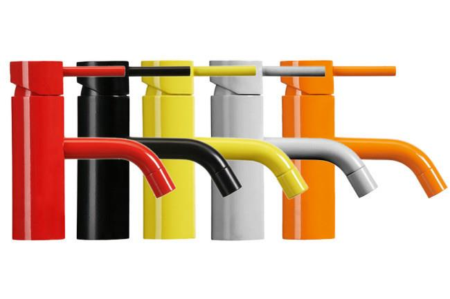 **Basin Mixers** | Australian-made and bursting with colour, the [Astra Walker](http://www.astrawalker.com.au) Icon Basin Mixer A69.02 Colour Edition taps, will make a lively addition to your bathroom.  _Image courtesy of supplier.   _