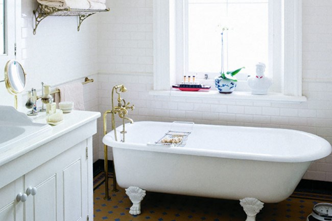 Simple, classic pieces will transform your bathroom
