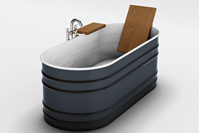 Agape 'Vieques' freestanding bath by Patricia Urquiola, from [Artedomus](http://www.artedomus.com).  _Image courtesy of Artedomus_