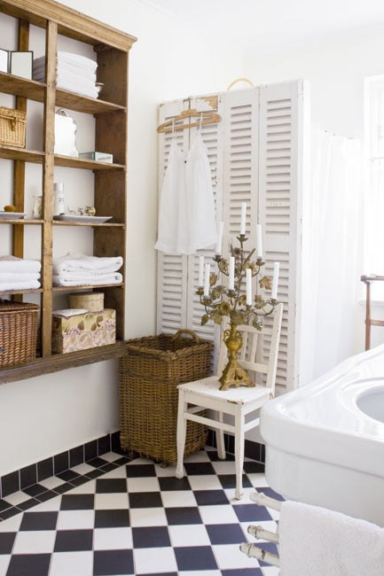 Simple, classic pieces will transform your bathroom.