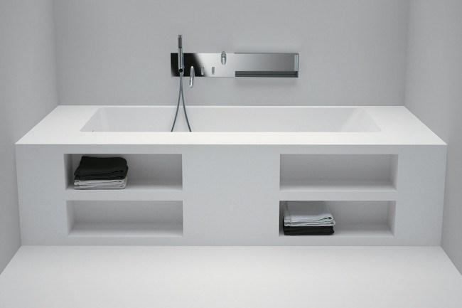 **Baths** | Agape 'Cartesio' VAS990 bath, from [Artedomus](http://www.artedomus.com/).