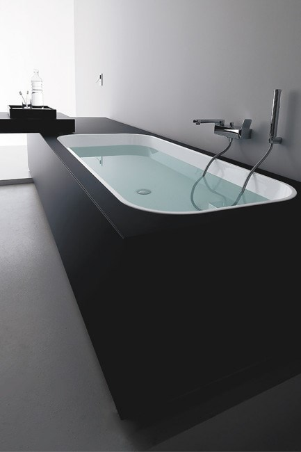 **Baths** | Kos 'Geo Soft Glass' bath, from [Streamline Products](http://www.streamlineproducts.com.au/).