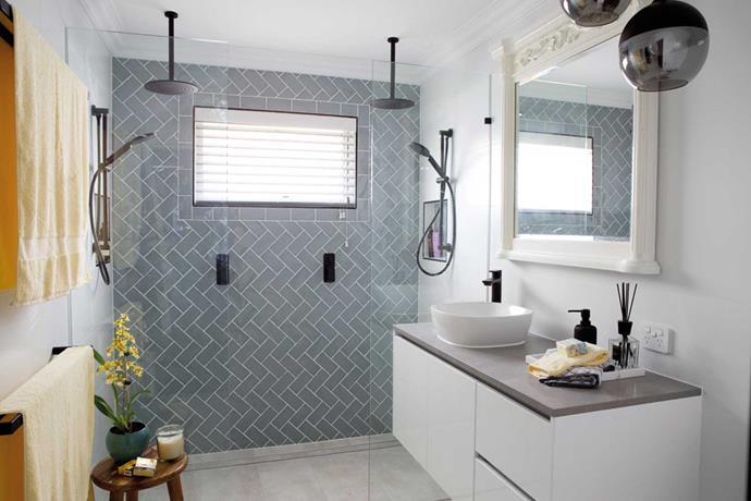 'Vista' wall mount vanity cabinet in White, Highgrove Bathrooms