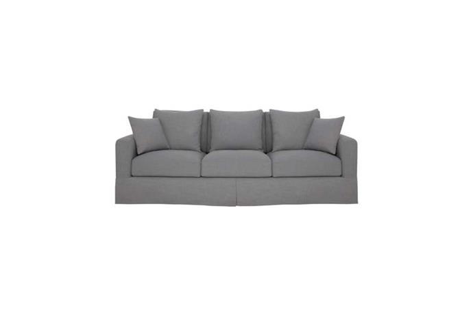 Benson grand (loose) 3 seat fabric sofa, $1799, Freedom