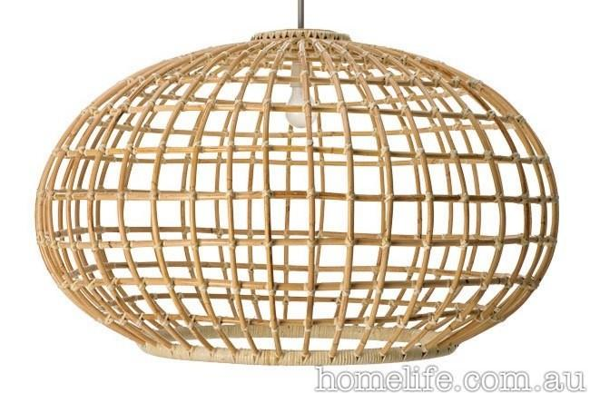 **Wicker, cane, rattan and bamboo furniture** | Handmade using traditional techniques, the Bonito pendant lamp is as light as it is stylish, from [Darcy Clarke](http://www.darcyclarke.com/).