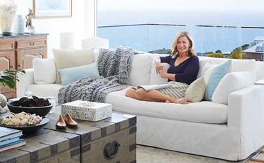 A tour of Deborah Hutton's stunning renovated Hamptons-style home