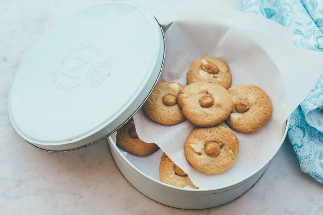**Macadamia butter biscuits**| Soft and chewy [macadamia butter biscuits](http://www.homelife.com.au/recipe/soft+chewy+macadamia+butter+biscuits,35103) that showcase the buttery goodness of this Australian native nut