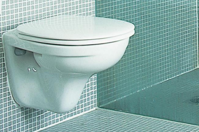 'Omnia Pro' wall-mounted toilet-suite by [Villeroy & Boch](http://www.villeroy-boch.com/en/au/home.html), from Argent.