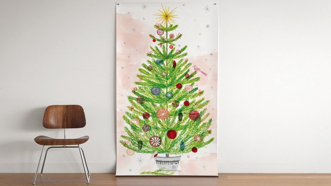 "Break out the watercolours and acrylics, the crayons and butcher's paper for the children's pièce de résistance this Christmas. Or scope out bespoke designs via [Super Happy Fun Tree](http://www.superfunhappy.com.au/|target=""_blank""