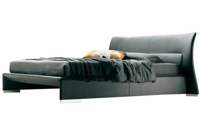 Molteni & C 'Glove' queen-size bed by Patricia Urquiola, from Hub Furniture.