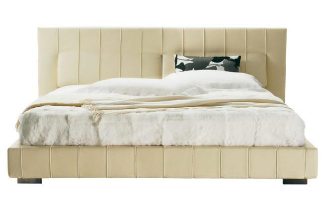 Molteni & C 'High-wave' queen-size bed with tilting head supports by Hannes Wettstein, from [Hub Furniture](http://www.hubfurniture.com.au/).